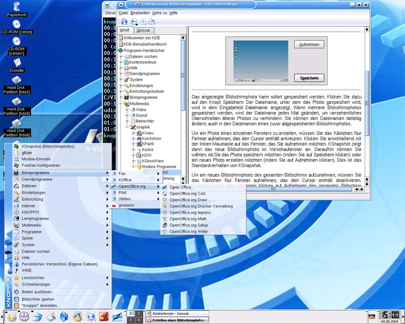 Installing Knoppix On Hard Disk