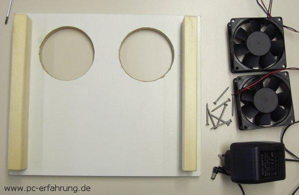 notebook k hlsystem im eigenbau anleitung zum bau einer aktiven k hlung f r notebooks damit. Black Bedroom Furniture Sets. Home Design Ideas