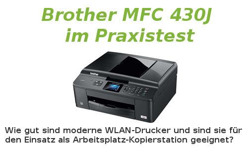 WLAN-Drucker Brother MFC J10W - WLAN-Installation, Kaufempfehlung