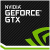 Nvidia  Geforce GTX 1080 Logo
