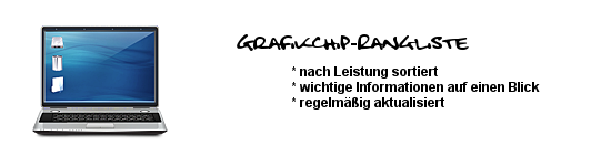 Grafikchiprangliste - Notebook