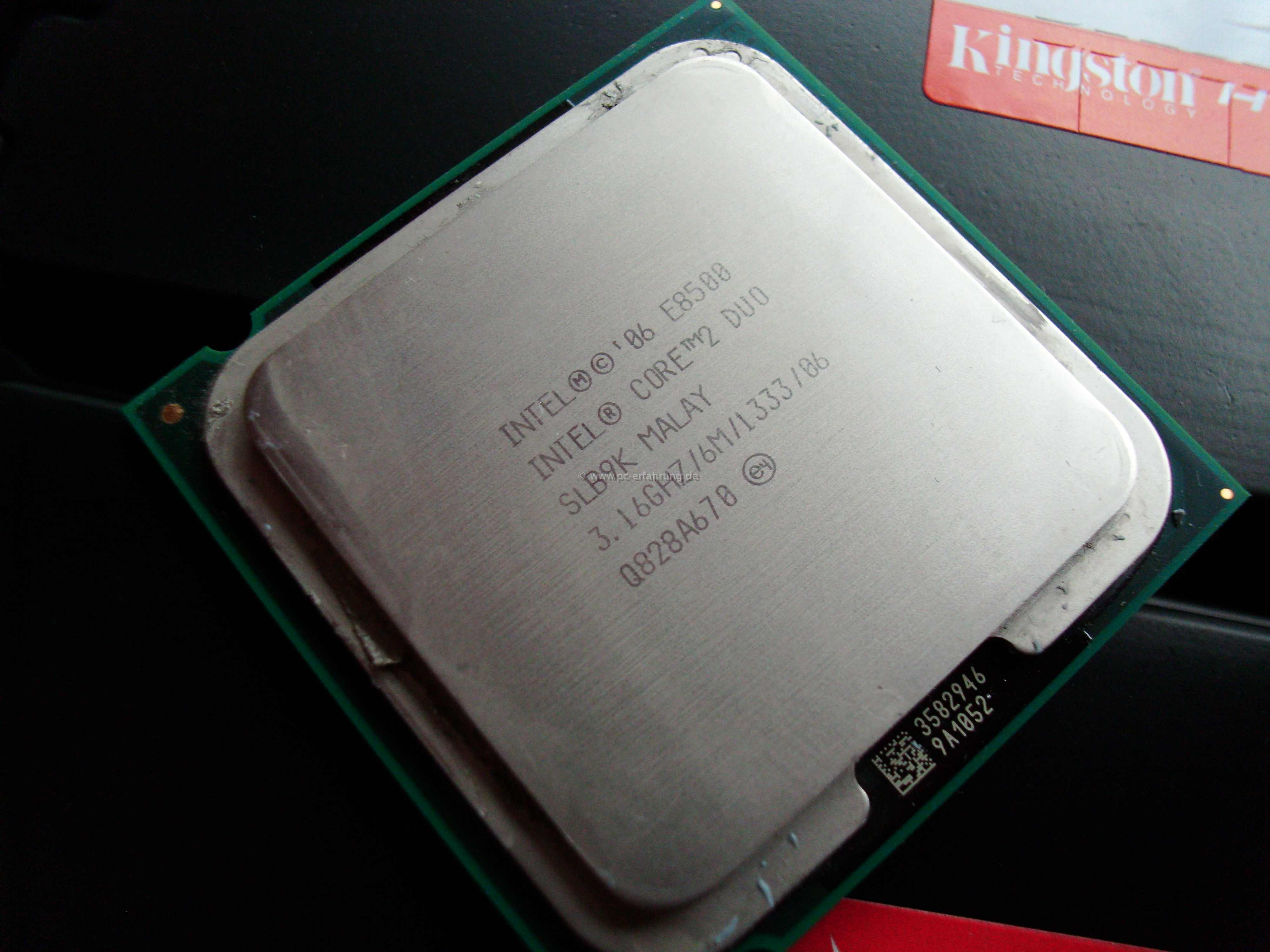 Intel Core 2 Duo E8500 Desktop Prozessor Technische Prosesor Informationen Und Spezifikationen Aus Der Prozessortabelle