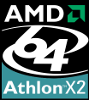 Athlon 64 X2 BE-2400 Logo